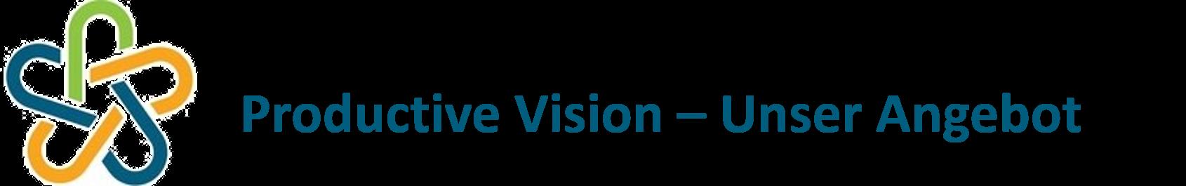 Productive Vision - Unser Angebot Logo